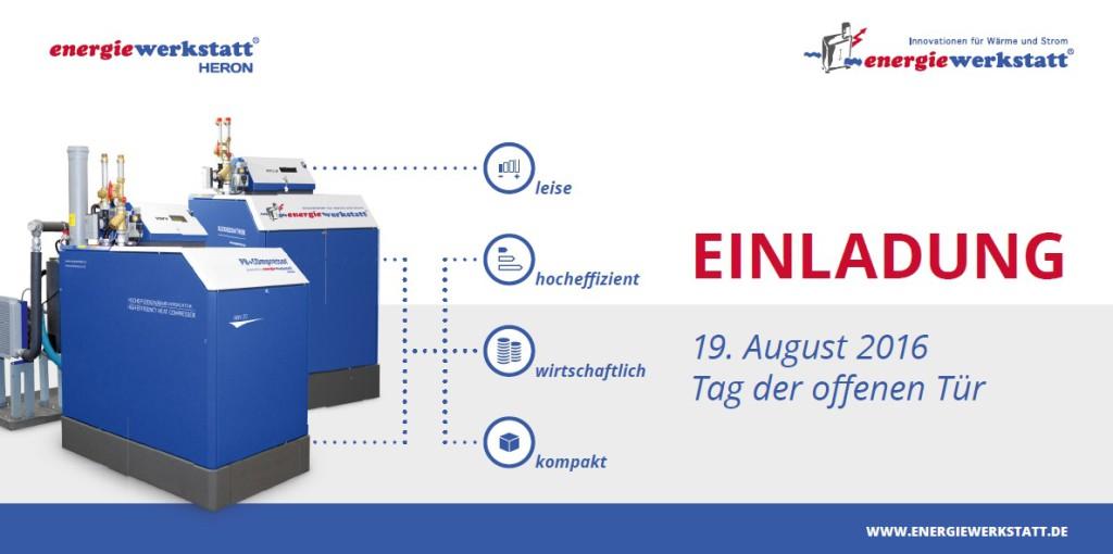 Einladung zum Tag der offenen Tür bei Energiewerkstatt Hannover